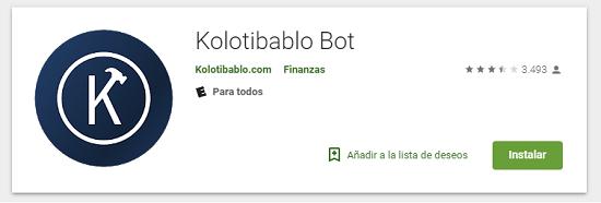 App android Kolotibablo