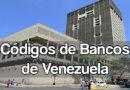Códigos de bancos venezolanos