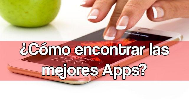 Encontrar las mejores apps móviles