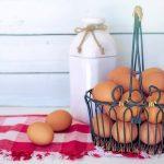 Batido de huevos crudos