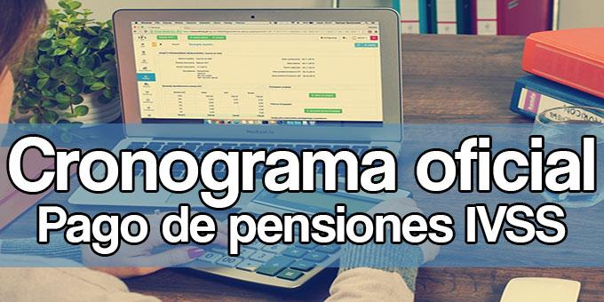 cronograma pago de pensiones ivss