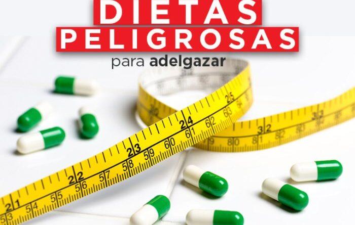 dietas peligrosas para adelgazar