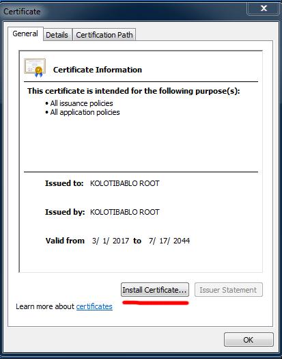 instalar certificado paso 1