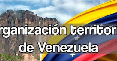 Organización territorial de Venezuela