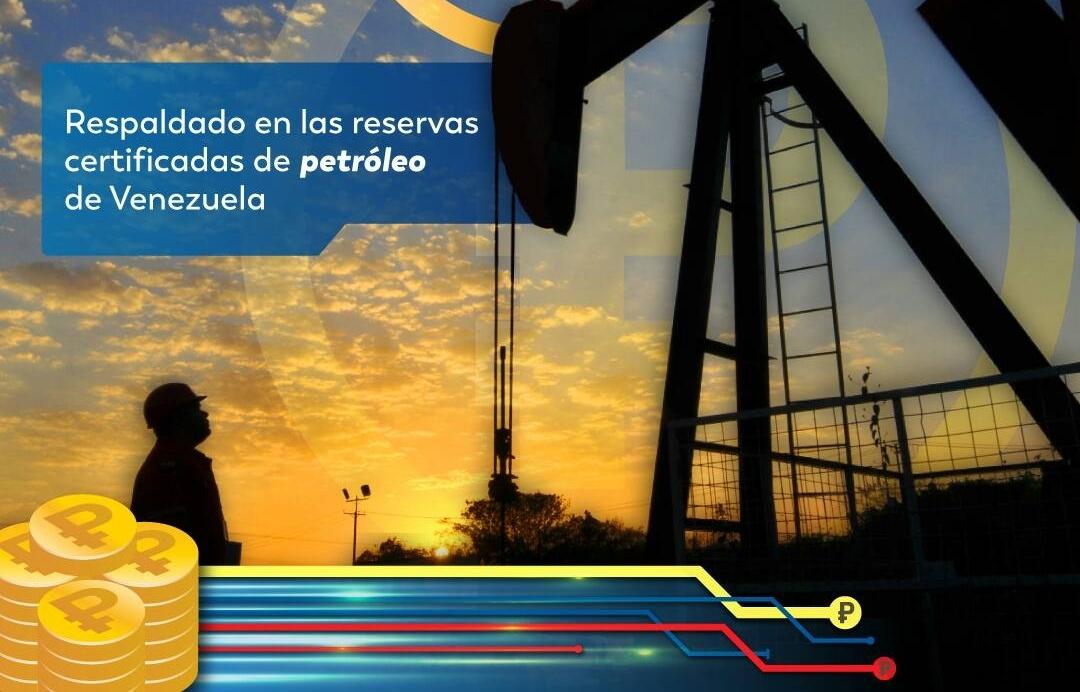 reservas certificadas de petróleo de Venezuela